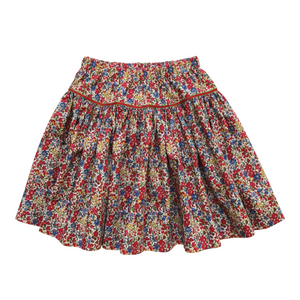 Liberty Print Tana Lawn Girls Skirt | Red Emma & Georgina