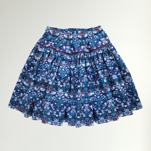 Liberty Print Tana Lawn Girls Skirt | Strawberry Thief