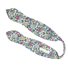 Load image into Gallery viewer, Liberty Print Top-Knot Headband | Pointed Ties | Baby - Adult Sizes |23 Print Options