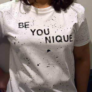 Be You Nique White T-Shirt