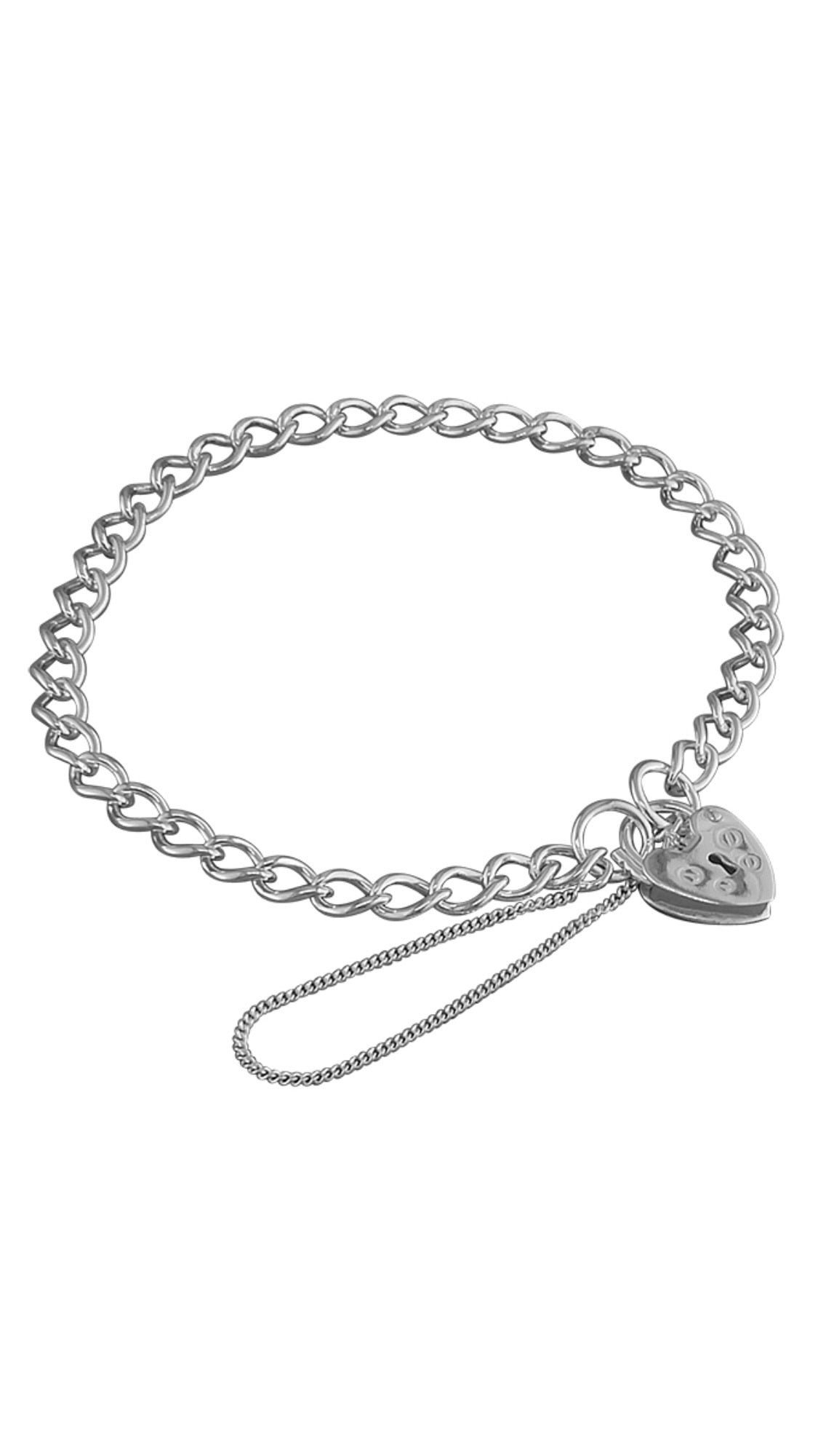 Light weight woman's charm bracelet