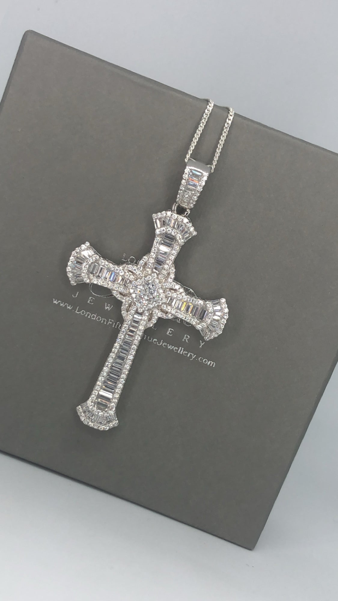 Mumbai cross pendant