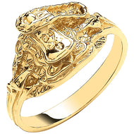 Child's Gold Saddle Ring
