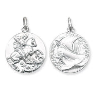 St George Silver pendant