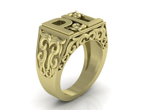 Bespoke Gold or Silver inital Rings