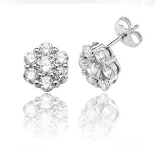 Load image into Gallery viewer, Flower stud earrings