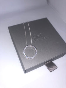 Cubic Circle Of Life Pendant - London Fifth Avenue jewellery