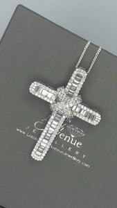 Iconic cross pendant