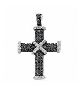 Created Black Onyx Gemma Cross