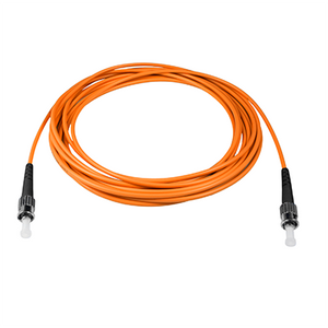 ST-ST - 1M - (62.5) Simplex Multimode Fiber Optic Patch Cord