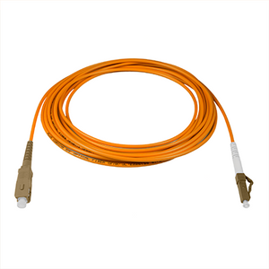 LC-SC - 5M - (62.5) Simplex Multimode Fiber Optic Patch Cord