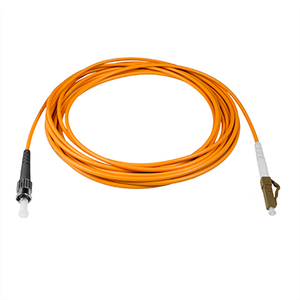 LC-ST - 5M - (62.5) Simplex Multimode Fiber Optic Patch Cord