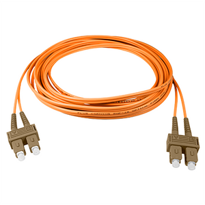 SC-SC - 1M - (62.5) Duplex Multimode Fiber Optic Patch Cord