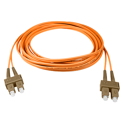 SC-SC - 10M - (62.5) Duplex Multimode Fiber Optic Patch Cord