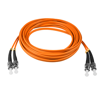 ST-ST - 10M - (50/125) Duplex Multimode Fiber Optic Patch Cord