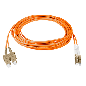 LC-SC - 10M - (62.5) Duplex Multimode Fiber optic patch cord