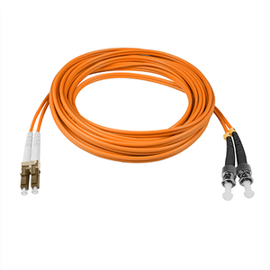 LC-ST - 5M - (62.5) Duplex Multimode Fiber optic patch cord