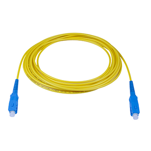 SC-SC - 1M - (9/125) Simplex Singlemode Fiber Optic Patch Cord