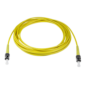 ST-ST - 3M - (9/125) Simplex Singlemode Fiber Optic Patch Cord