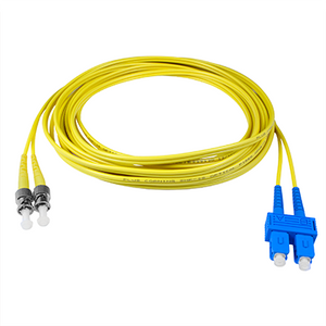 SC-ST - 1M - (9/125) Duplex Singelmode Fiber optic patch cord