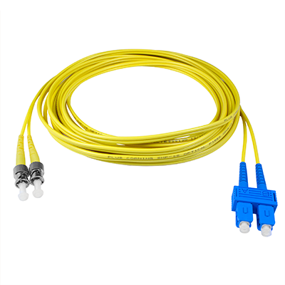 SC-ST - 5M - (9/125) Duplex Singlemode Fiber optic patch cord