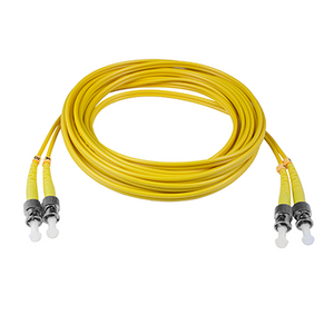 ST-ST - 3M - (9/125) Duplex Singlemode Fiber Optic Patch Cord