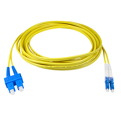 LC-SC - 2M - (9/125) Duplex Singelmode Fiber optic patch cord