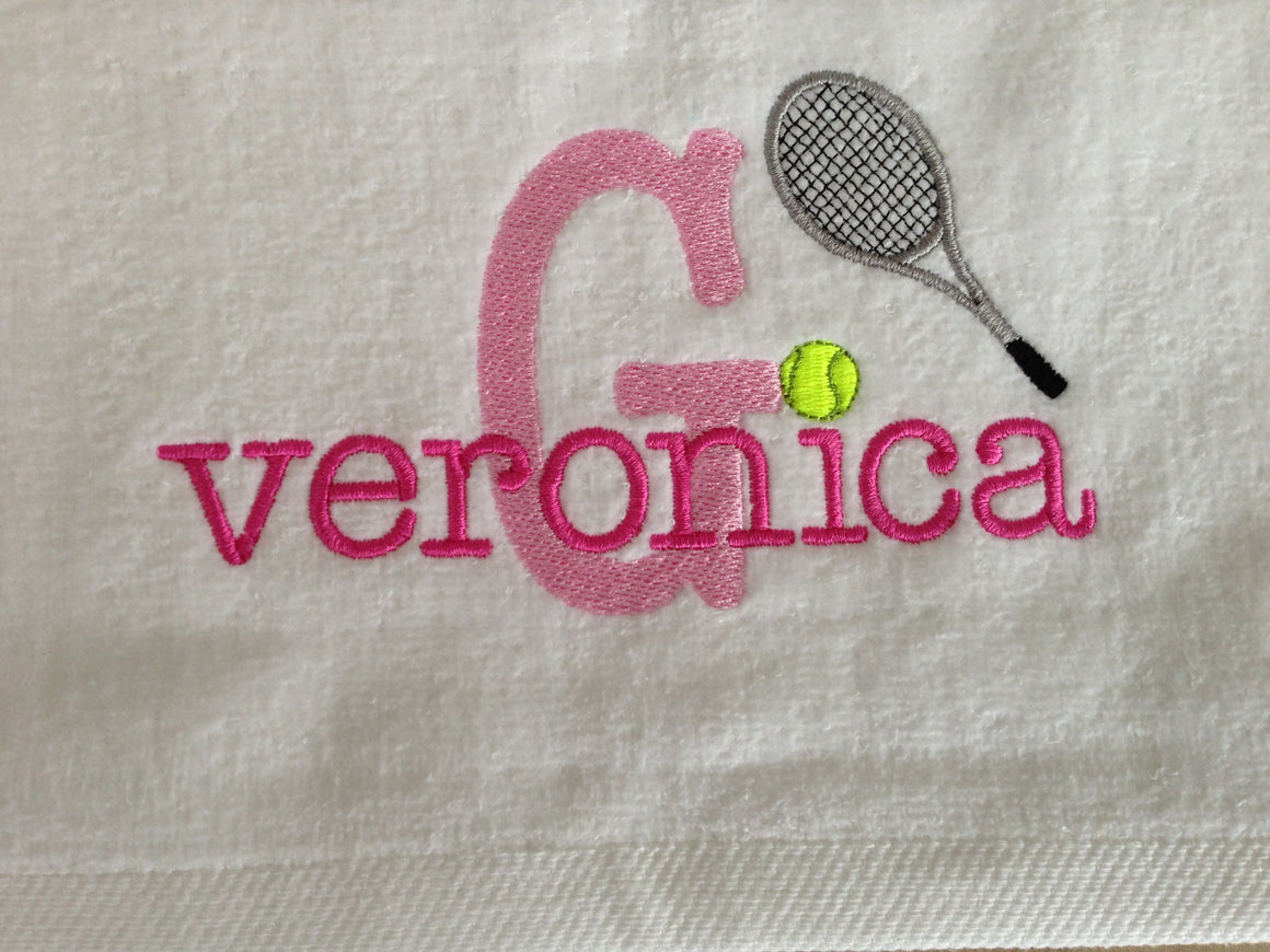 Tennis Sports Towel