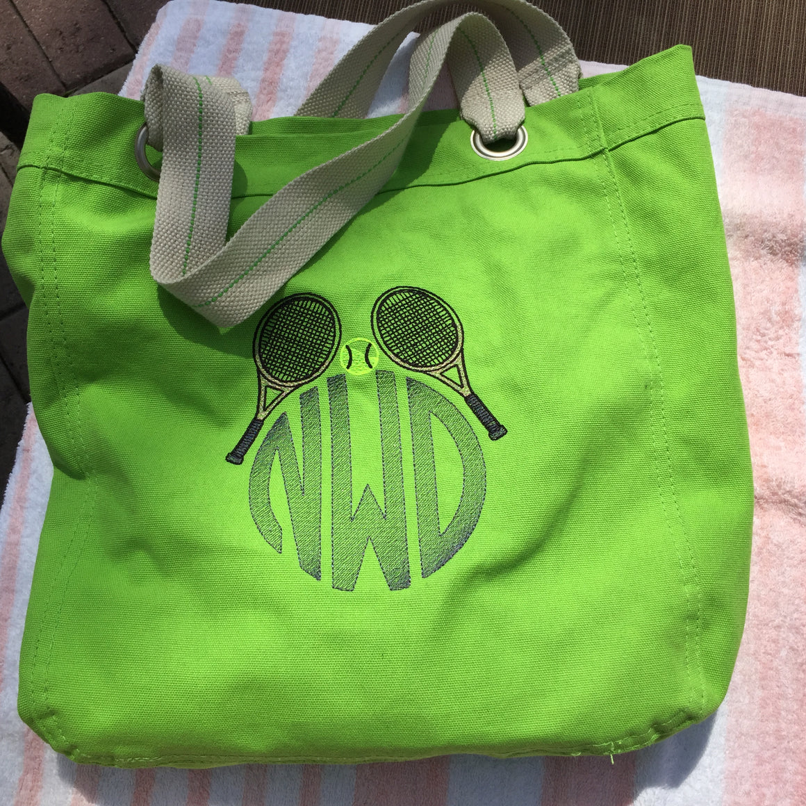 Tennis Tote Bag
