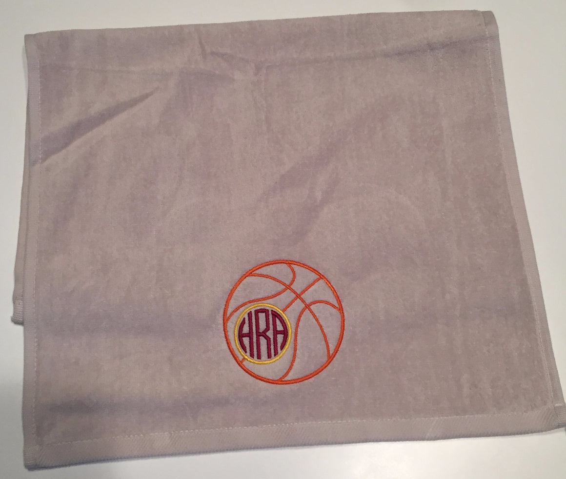 Basketball Sports Sweat Towel