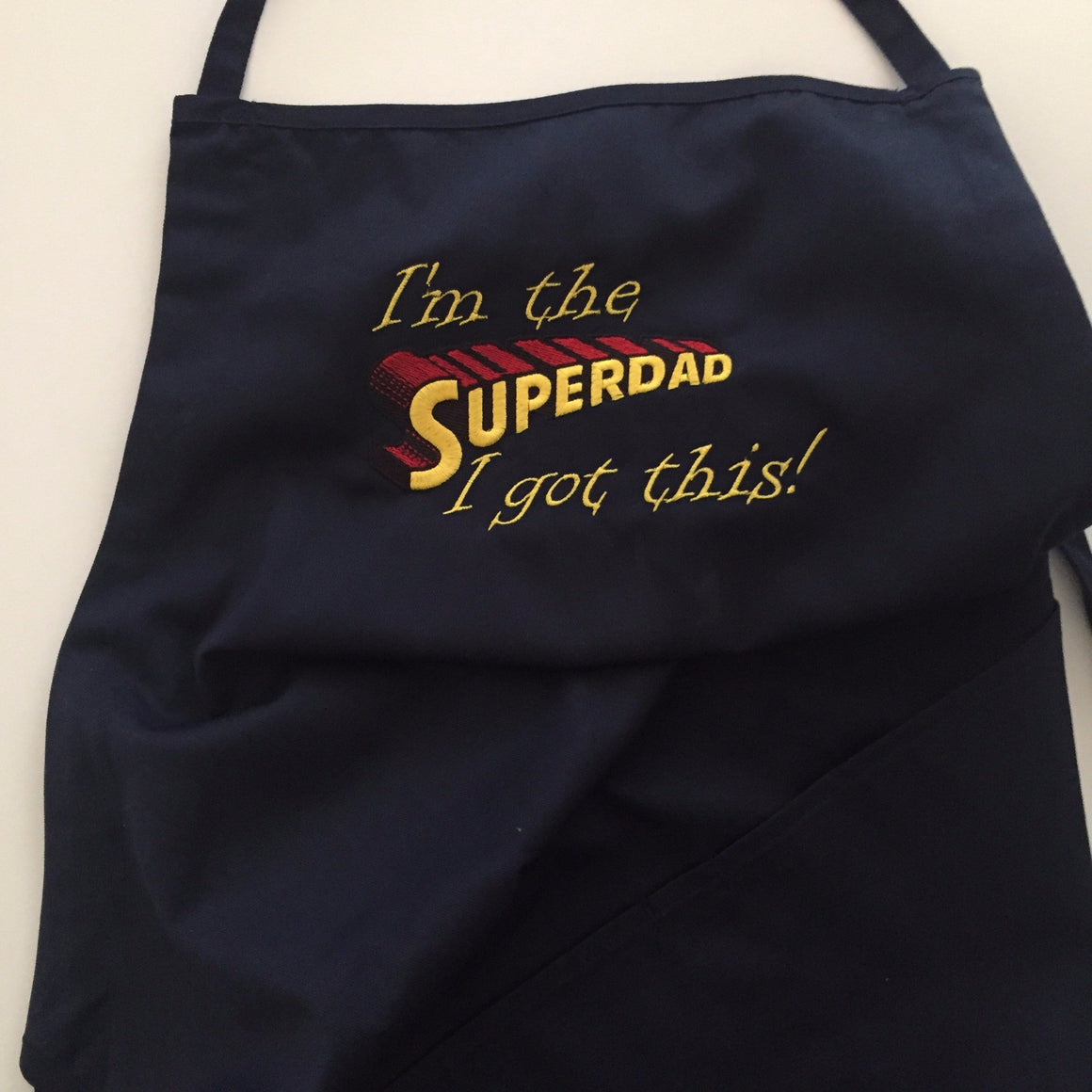 Super Dad Gag Gift Apron