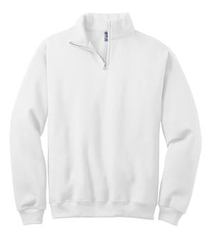 Men's Tennis Team Half Zip Pullover 50/50 blend