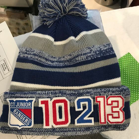 Custom Order - CT Jr Hockey - Knit Hats