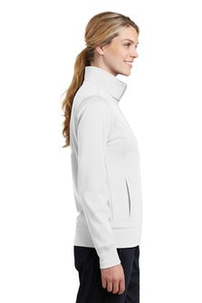 IC Womens Moisture-Wick Fleece Full-Zip Jacket