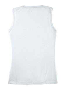 IC Womens Sleeveless V Neck Tee