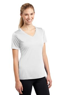 Womens tennis short sleeve v neck tee