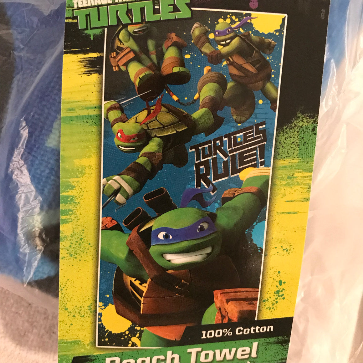 Teenage Mutant Ninja Turtle Beach Towel