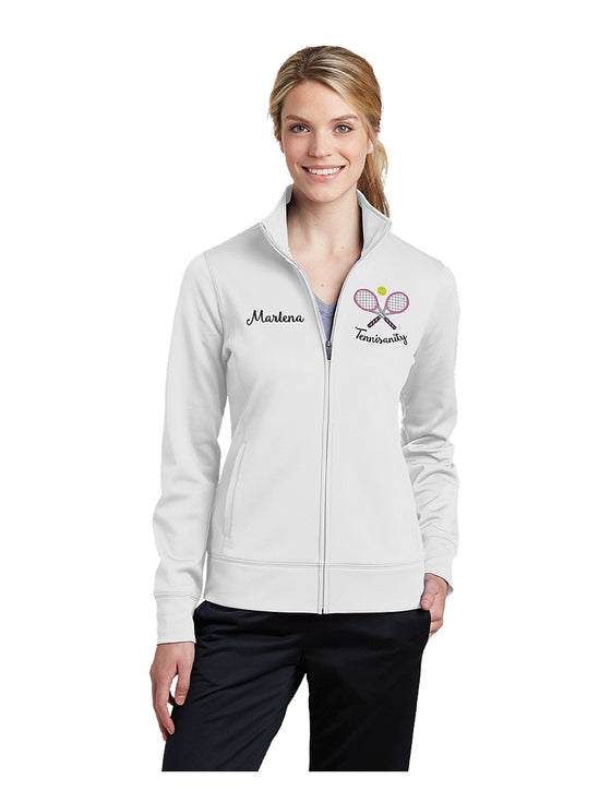 Tennisanity Tennis Team Women's Full Zip Jacket