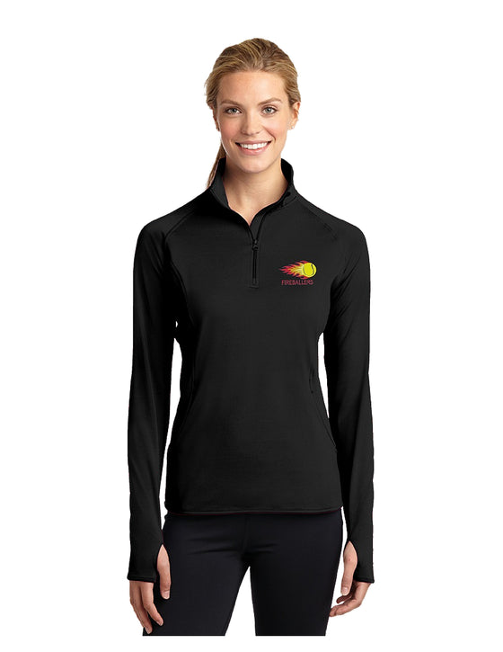 Fireballers Quarter Zip Fleece