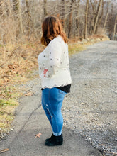 Counting Stars Distressed Sweater