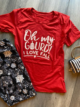Oh My Gourd! I Love Fall Graphic T