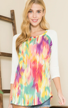Watercolor Wonder Top