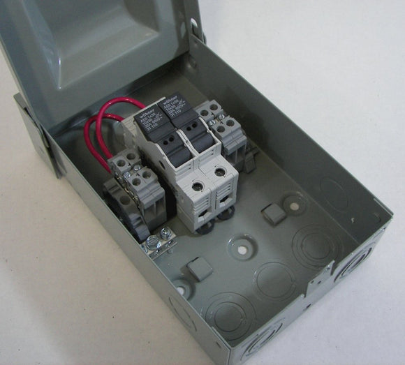 2 or 3-String Solar Power Combiner Box - NEMA 3R