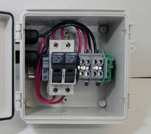 2 or 3-String Pre-wired Compact Solar Power Combiner Box