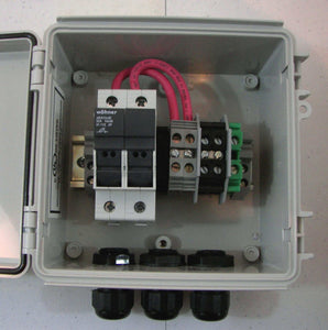 2 or 3-String Compact Solar Power Combiner Box