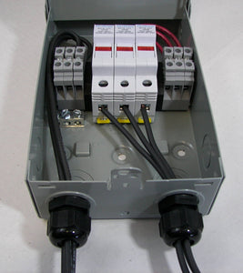Pre-wired 2 or 3-String Solar Power Combiner Box - NEMA 3R
