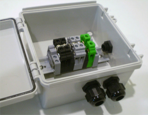 Economical 2, 3 or 4-String Solar Power Combiner / Terminal Box