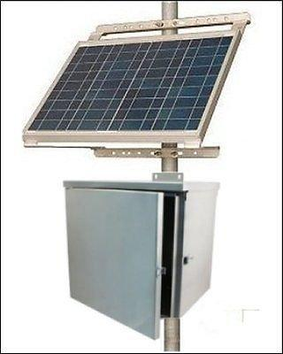 Off-grid Solar Power System for Industrial Controls & Instrumentation