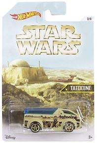 HOT WHEELS VEHICULO STAR WARS TATOOINE MATTEL DJL03
