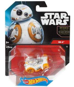 HOT WHEELS VEHICULOS STAR WARS DELUXE BB-8 MATTEL CGW35